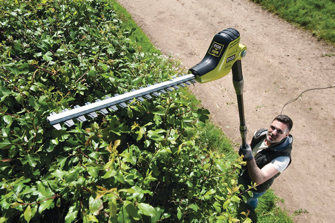 Ryobi RPT4545M Electric Long Reach Hedge Trimmer