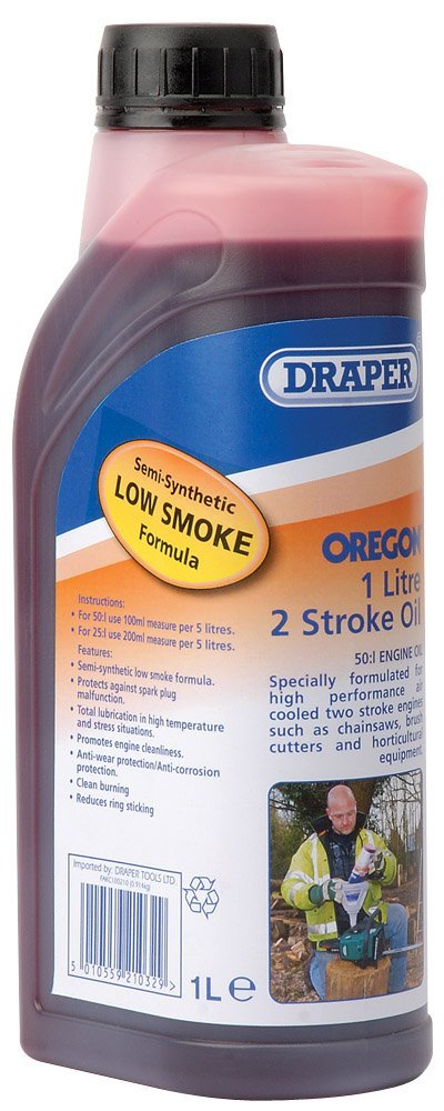 drapper 2 stroke oil