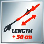 Einhell GGHH9048 900 W 410 mm GC-HH Pole Hedge Trimmer Review