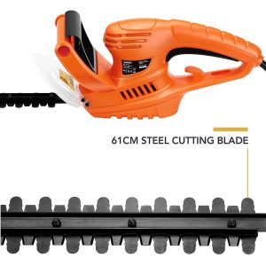 VonHaus 550W Electric Hedge Trimmer Blade and Handle