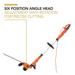 VonHaus Telescopic Extension Pole Hedge Trimmer 600W Head