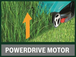 Bosch Rotak 32 R Electric Rotary Lawn Mower Powerdrive Motor