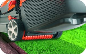 Flymo Chevron 34vc Electric Rotary Lawn Mower Grass