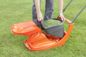 Flymo Hover Vac 280 Electric Hover Lawn Mower Container