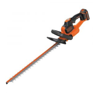 BLACK and DECKER 18 V Lithium-Ion 45 cm Anti-Jam Hedge Trimmer with 2 Ah Battery