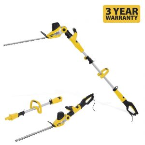 Powerplus 2 in 1 Telescopic Hedge Trimmer