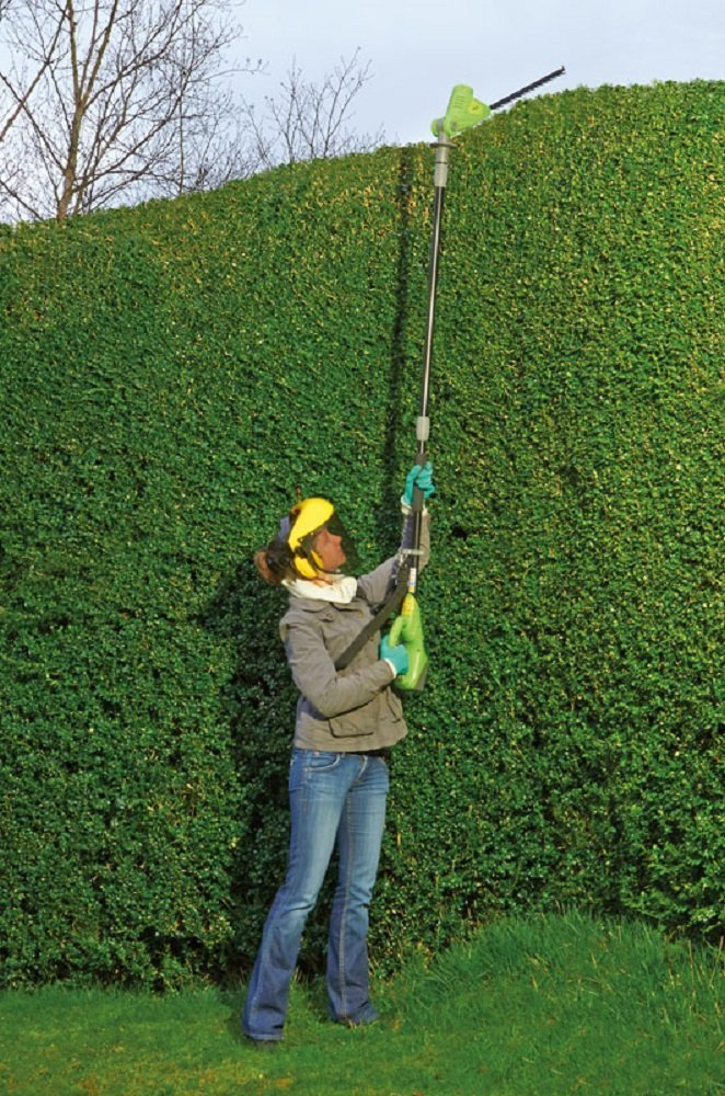 Garden Gear 18V Telescopic Cordless Hedge Trimmer Top Trimming