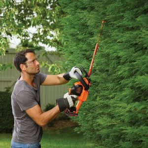 BLACK & DECKER 18 V Hedge Trimming