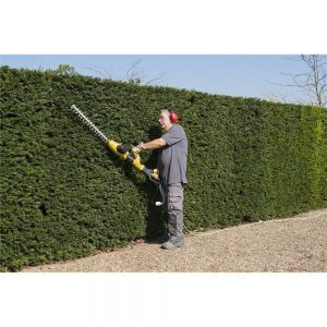 Powerplus 2 in 1 Telescopic Hedge Trimmer Vertical Cutting