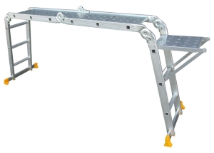 Abbey Aluminium Ladder With Platform