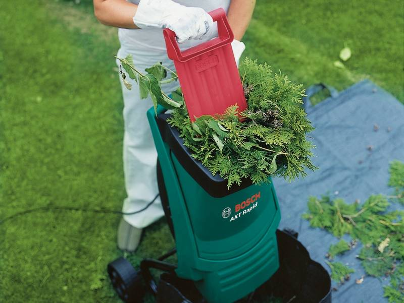 bosch garden shredder - one of the best garden shredder