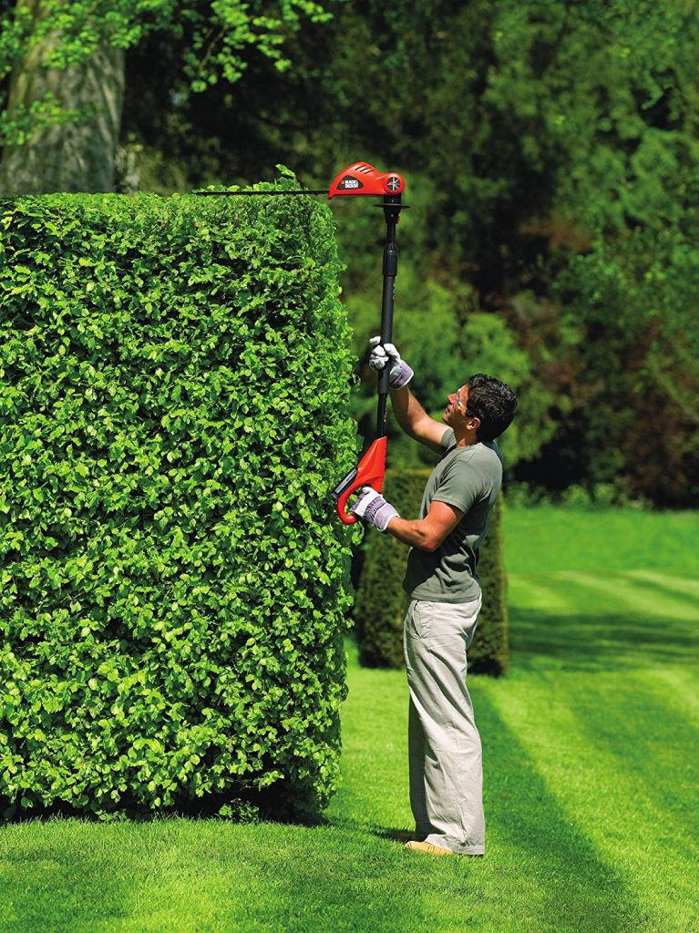 Black & Decker GTC1843L20-GB Pole Hedge Trimmer Review - Great Control