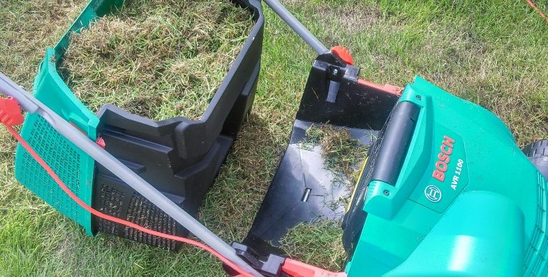 Bosch Lawn Scarifier UK Container