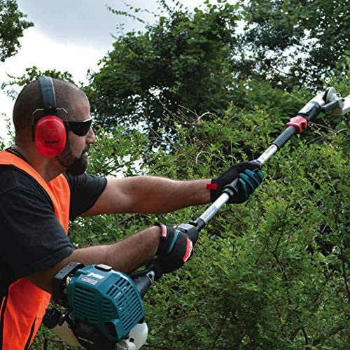 Safety usage of Makita hedge cutter