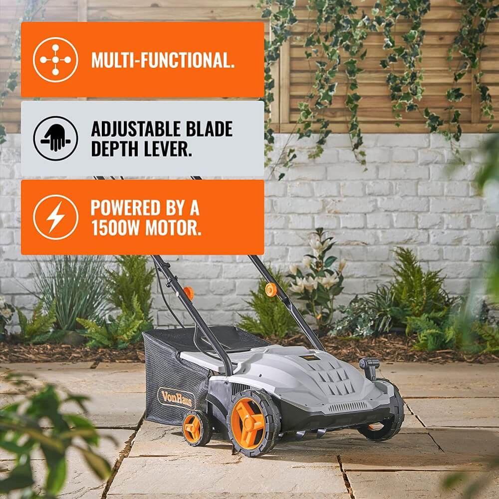 von haus one of the best lawn scarifier