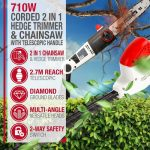 NETTA 2-IN-1 Long Reach Hedge Trimmer Review